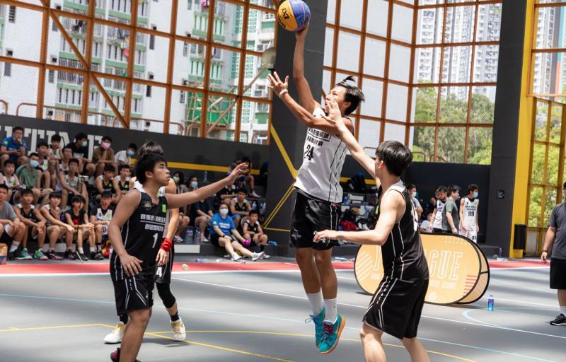 「Y-League」新興運動聯賽三人籃球 -啟業運動場(男子 Division 2)
